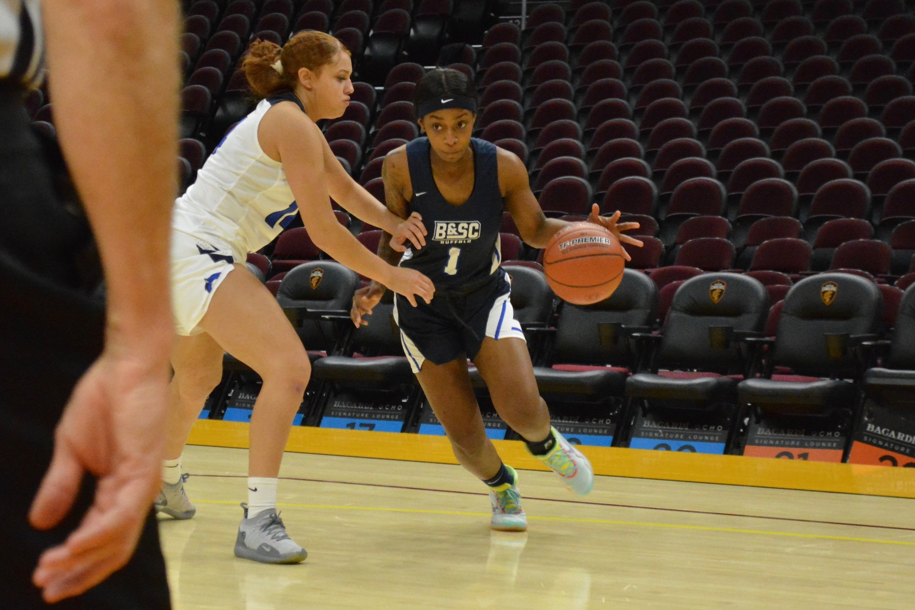 Perry, Women's Basketball Picks up Program's First Win, 69-64 over Fisher