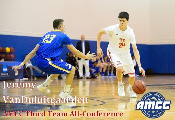 VanDuluitgaarden Named an AMCC Third Team All-Conference Selection