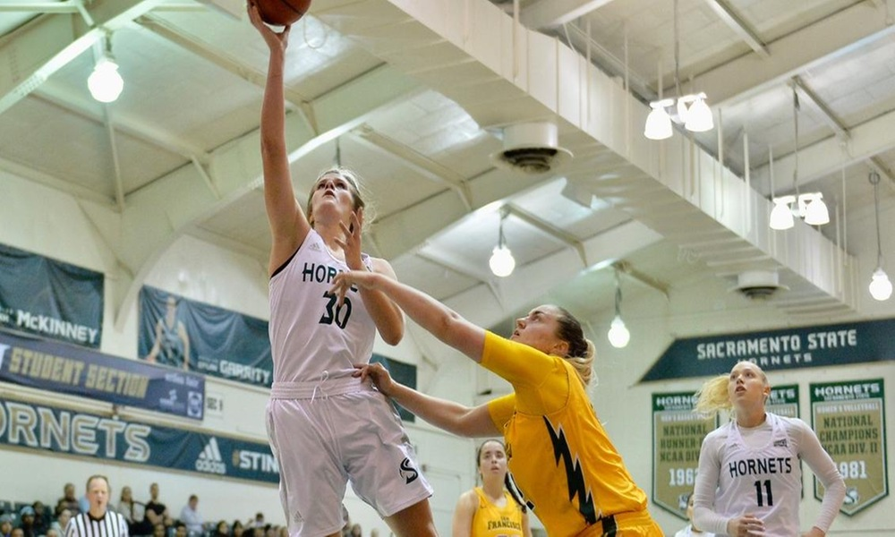 DESPITE CAREER PERFORMANCE BY NICHOLAS, WOMEN'S BASKETBALL IS UNABLE TO OVERCOME EARLY DEFICIT IN 87-75 LOSS TO SAN FRANCISCO