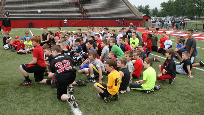 Participants in 2013 Youth Camp.