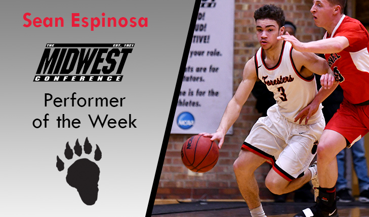 Sean Espinosa Named MWC Performer of the Week