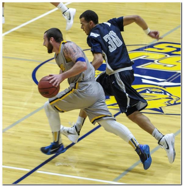 Lions' men's basketball team posts 73-68 home win over Transylvania University