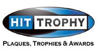 Buy engraved plaques and awards from HitTrophy.com