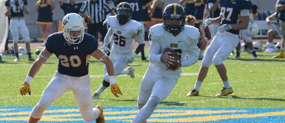 Balanced Attack Leads Football to Win at MSJ