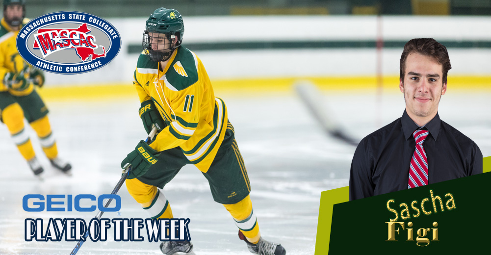 Figi Tabbed MASCAC Ice Hockey Player Of The Week
