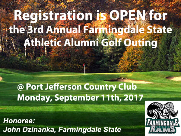 Registration is Open for the 3rd Annual Athletic Alumni Golf Outing