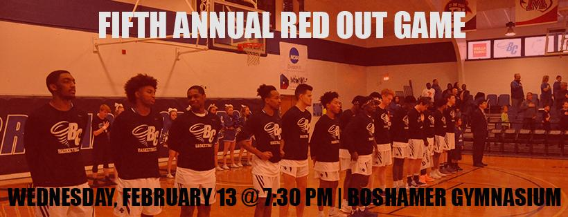 Brevard Men's Basketball to Host Fifth Annual Red Out Game on Wednesday Against Maryville
