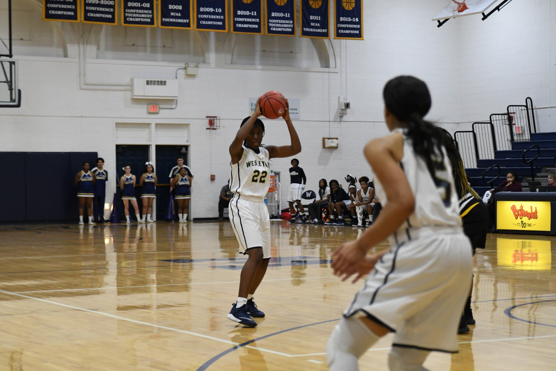 Women's Basketball Rolls Past Pfeiffer