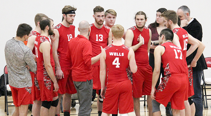 Men's Volleyball Splits To Open NEAC Weekend