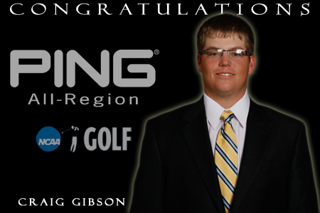 Gibson becomes GSW's first All-Region selection