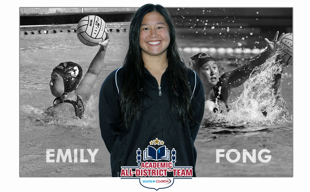 Fong honored on CoSIDA Academic All-District women's at-large team