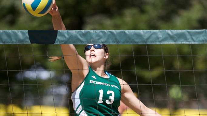 SAND VOLLEYBALL DEFEATS BOTH CALIFORNIA AND CAL POLY