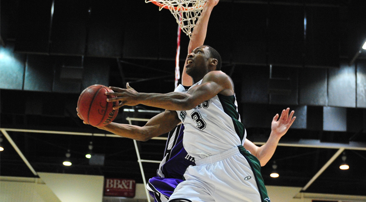Second-Half Rally Not Enough in GC Men's Basketball Loss at Clayton, 77-66