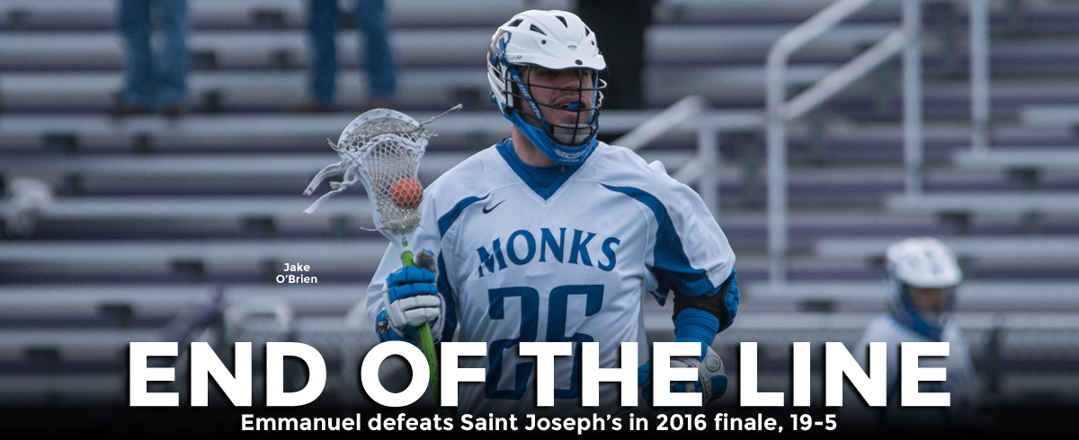 Saint Joseph's Concludes 2016 Season with Loss to Emmanuel
