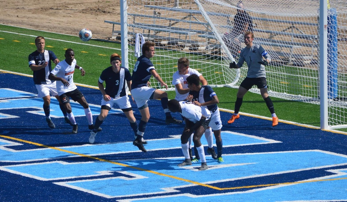 Westminster Men's Soccer Completes Nonconference Play at Simpson