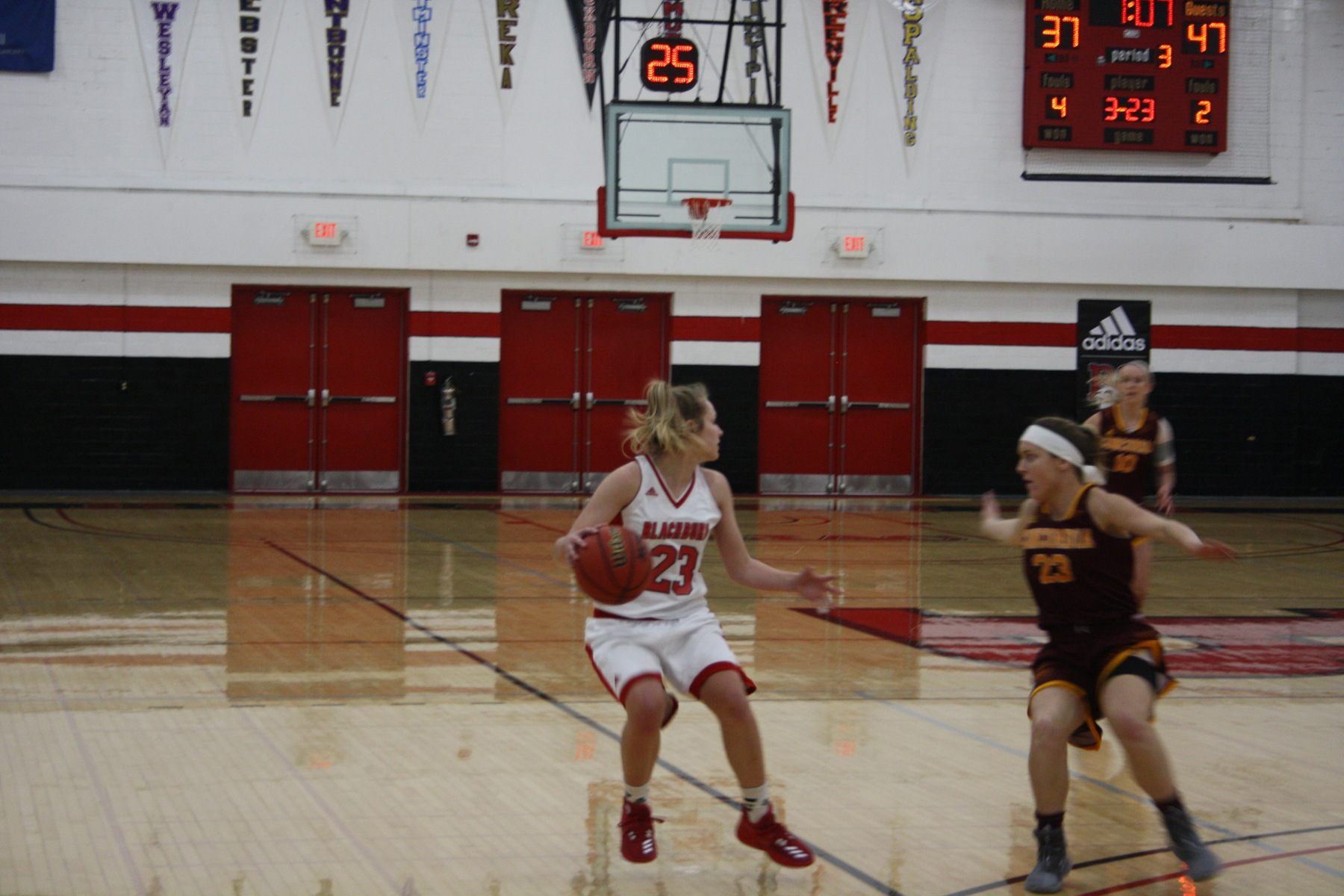 Blackburn Women's Basketball falls to Concordia Chicago