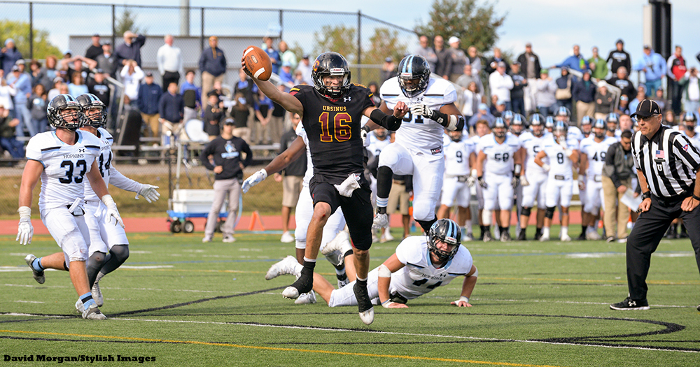 Football Stuns No. 8 Johns Hopkins
