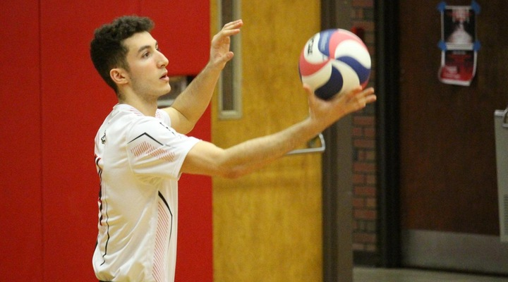 Men's Volleyball Downs Dean, 3-0