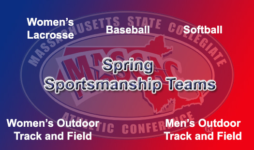 Granito, Quackenbush, and Sistrunk named to MASCAC Spring Sportsmanship Team