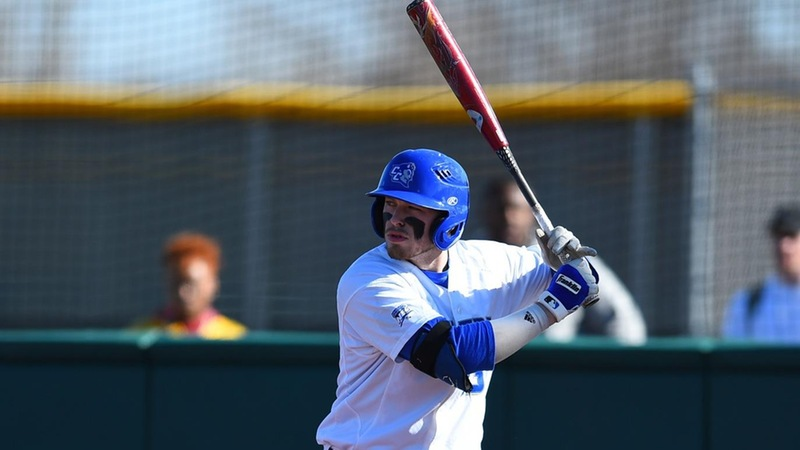 Baseball Falls to UConn in the Ninth, 7-5