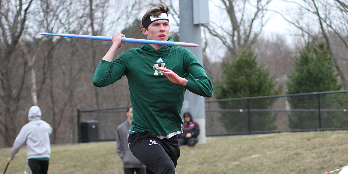 Wortman Sets Six PR's in Decathlon to Lead Husson at New England DIII Championship
