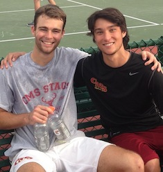 Stags Have Best Ever Pac Coast Doubles Tourney