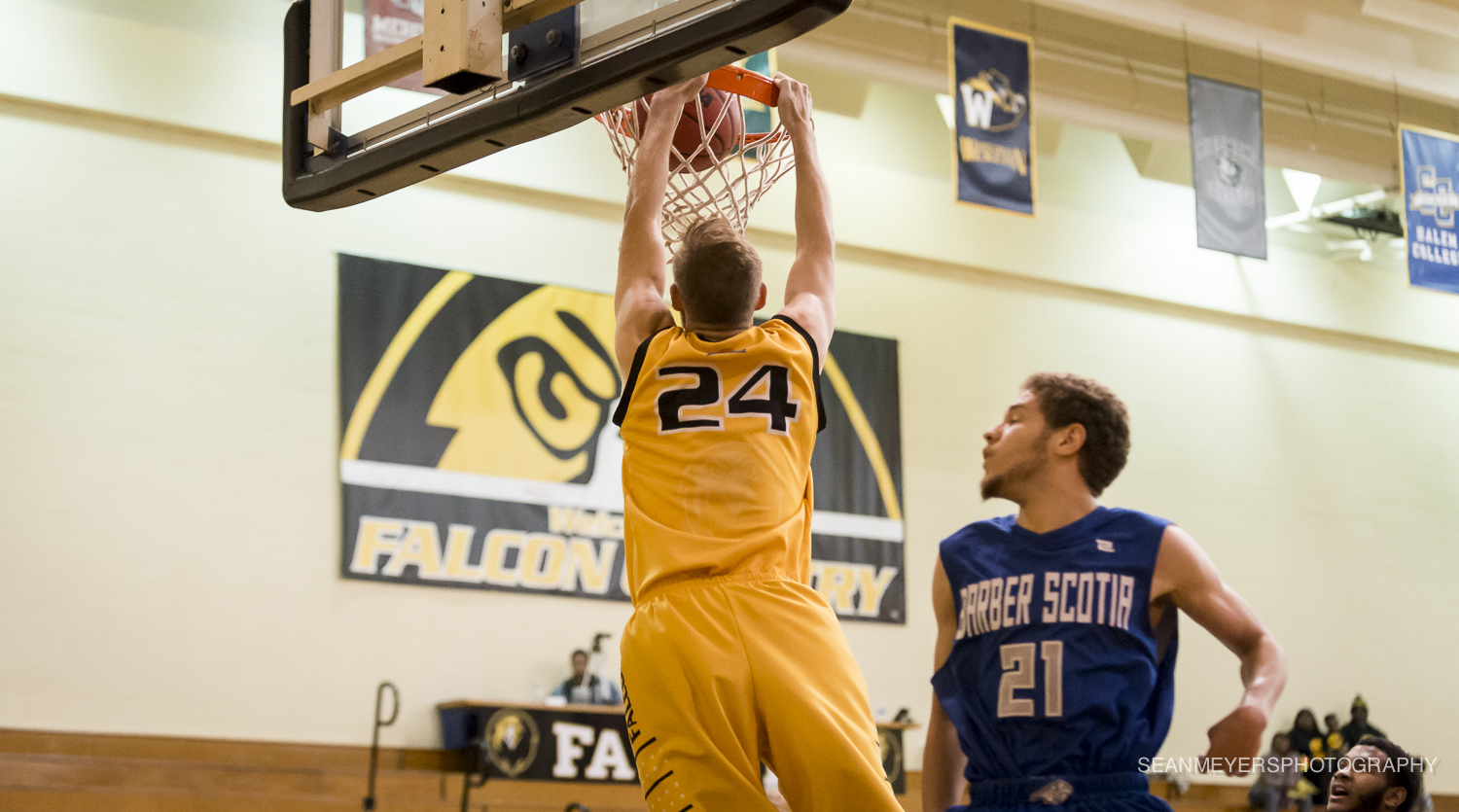 Whitener's Double-Double Helps Falcons Complete the Sweep of Averett