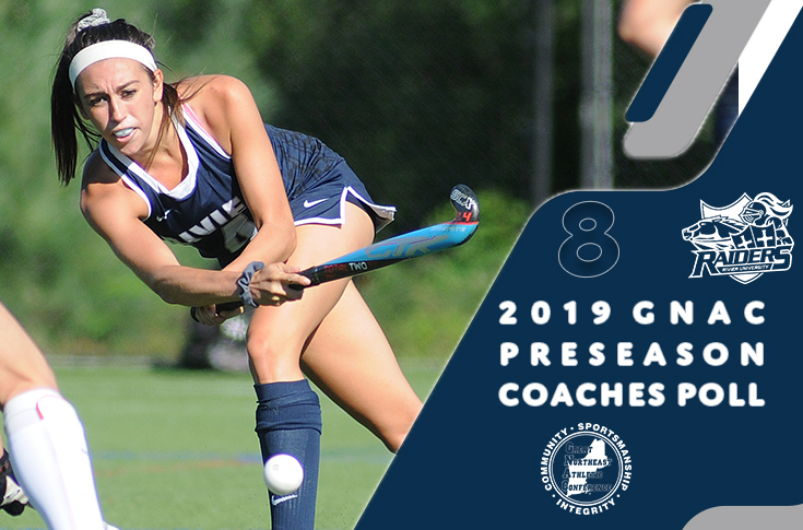 Field Hockey: Rivier slotted eighth in annual GNAC Coaches Poll