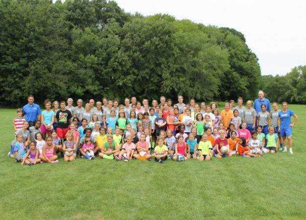 Women's Soccer Holds Youth Clinic