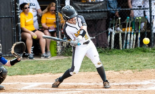 Softball Splits with Southern Virginia