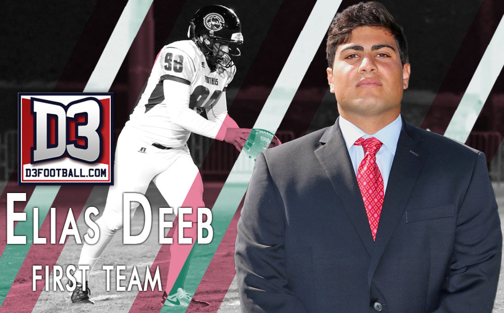 Deeb selected to D3football All-Region First Team