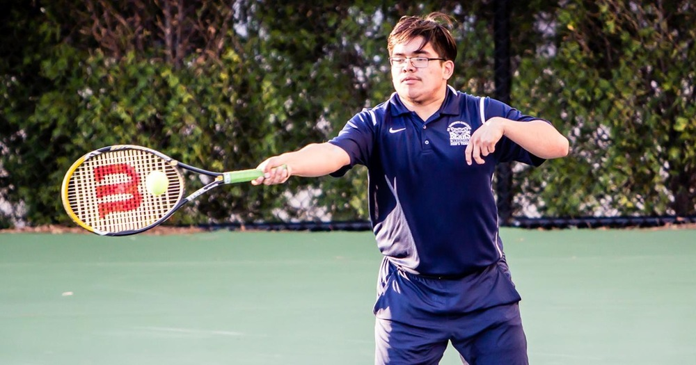 Men's Tennis Suffers First Loss in Road Test at Staten Island