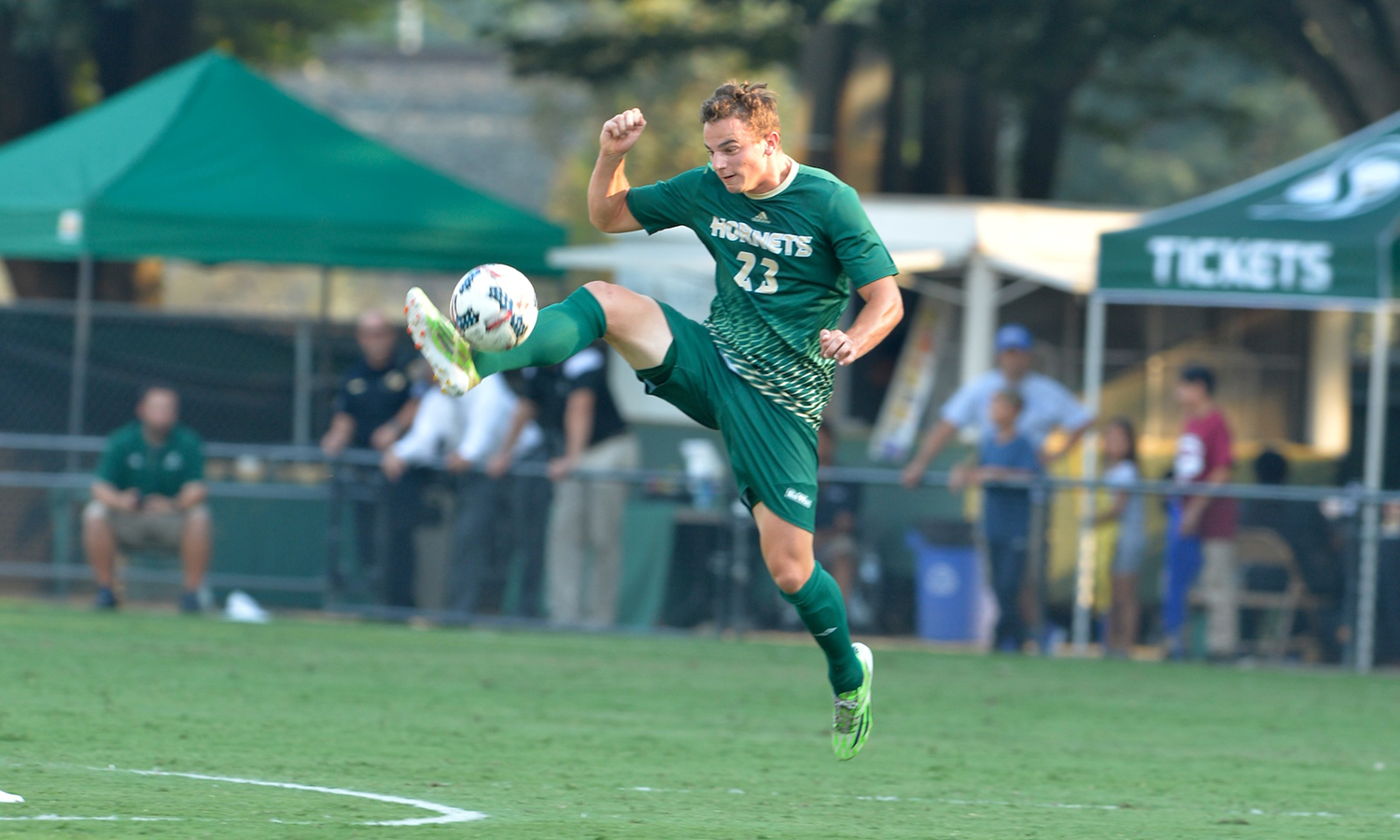 MEN'S SOCCER TAKES DOWN UVU IN COME-FROM-BEHIND WIN