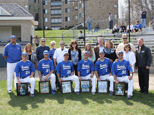 Hounds Fall in 10-2 Senior Day Final