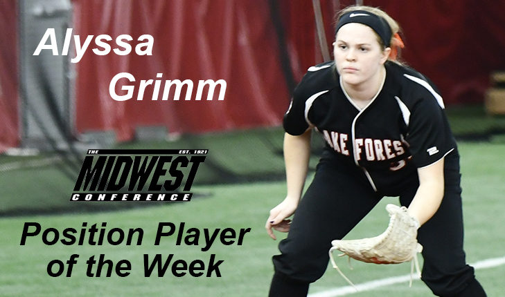 Alyssa Grimm Named MWC Position Player of the Week
