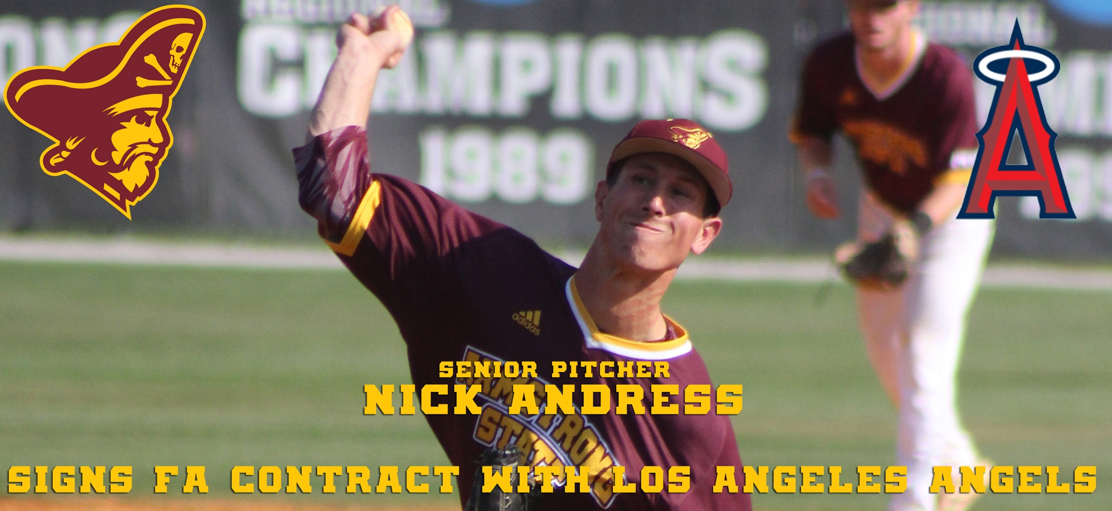 Nick Andress Inks Minor League Contract With Los Angeles Angels Organization