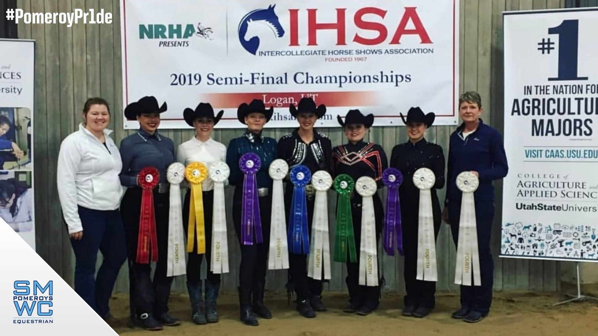 Western Equestrian Takes Fourth Place at IHSA Semi-Finals; Gingerich Qualifies for Nationals