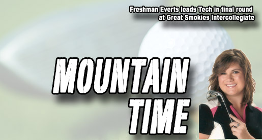 Everts continues strong play, leads Tech in final round at Great Smokies