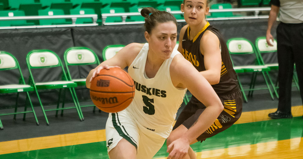 Women's basketball wins big in afternoon game