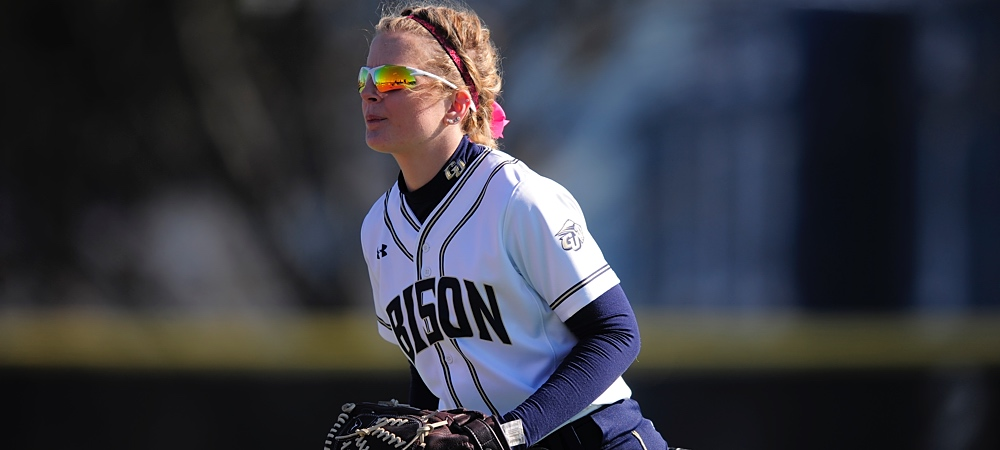 GU softball ends season on high note with sweep