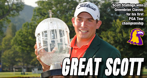 HE DID IT! Stallings wins Greenbrier Classic title in dramatic playoff