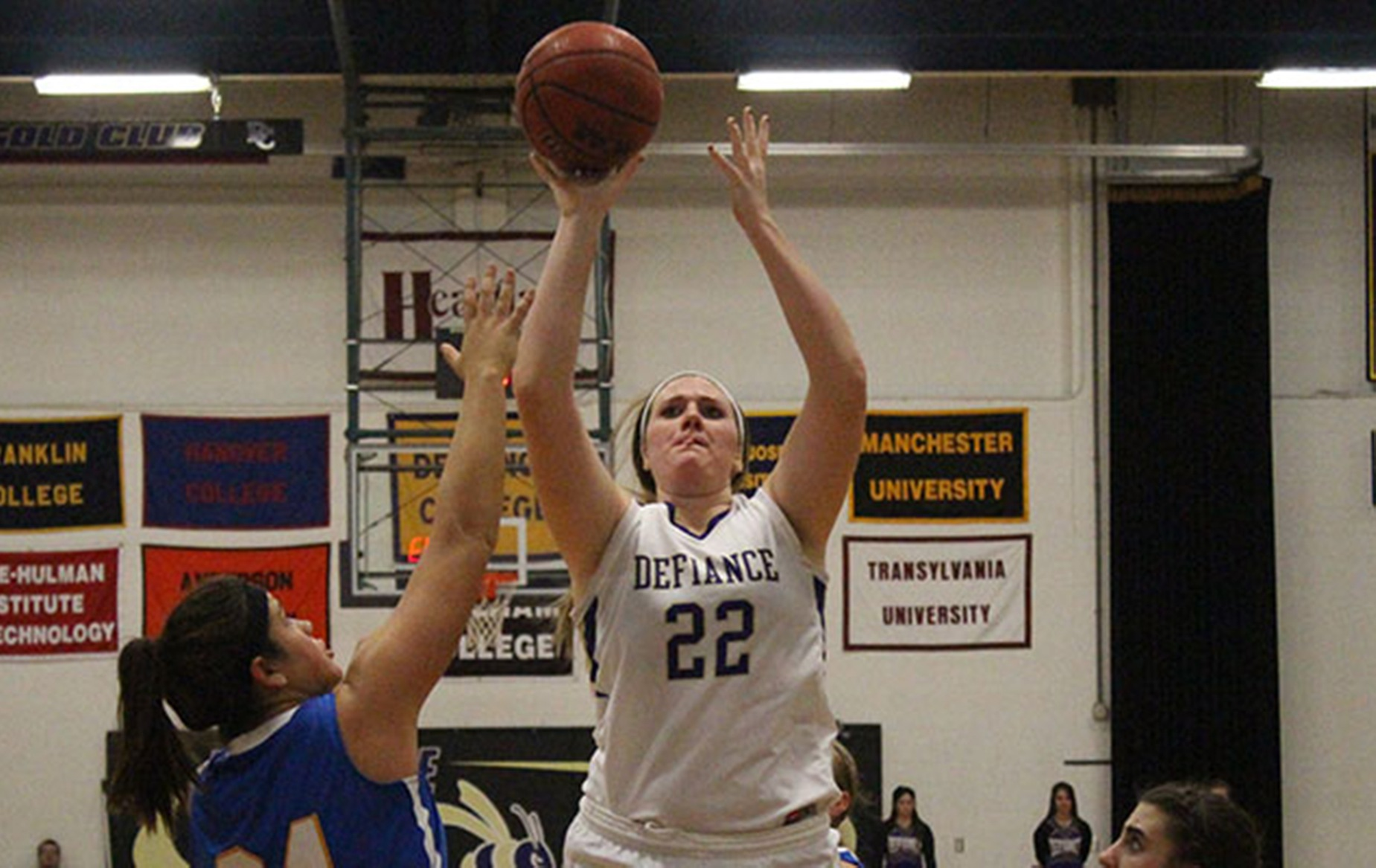 Defiance Women's Basketball Defeated by Transylvania