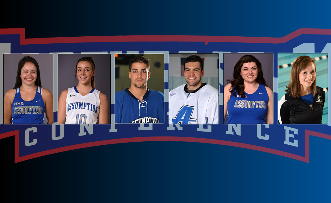 Six Hounds Named to NE-10 Winter Academic All-Conference Teams