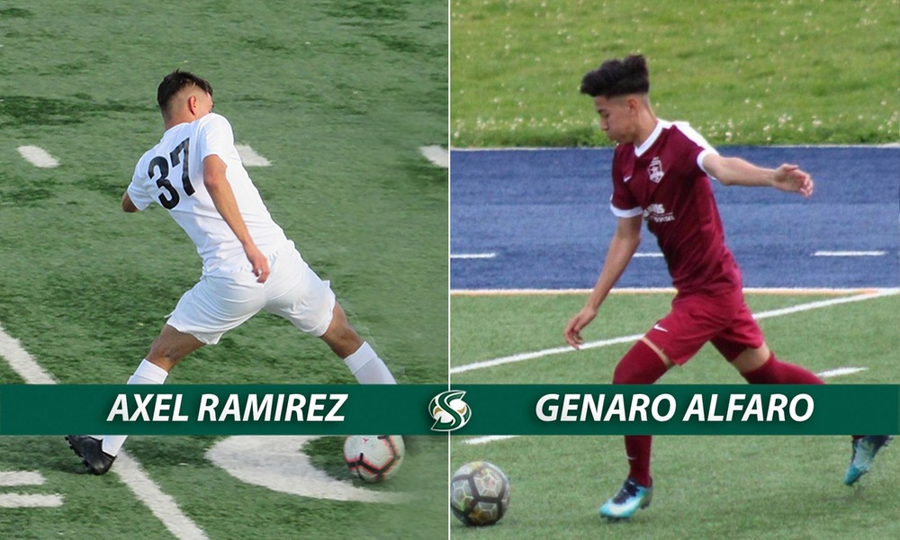 MEN'S SOCCER SIGNS TWO MORE - AXEL RAMIREZ AND GENARO ALFARO - TO NATIONAL LETTER OF INTENT