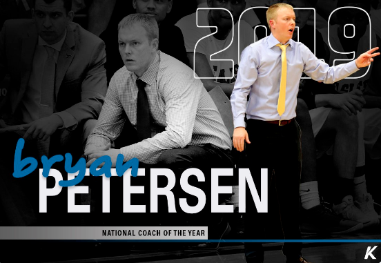 Petersen named National Coach of the Year again