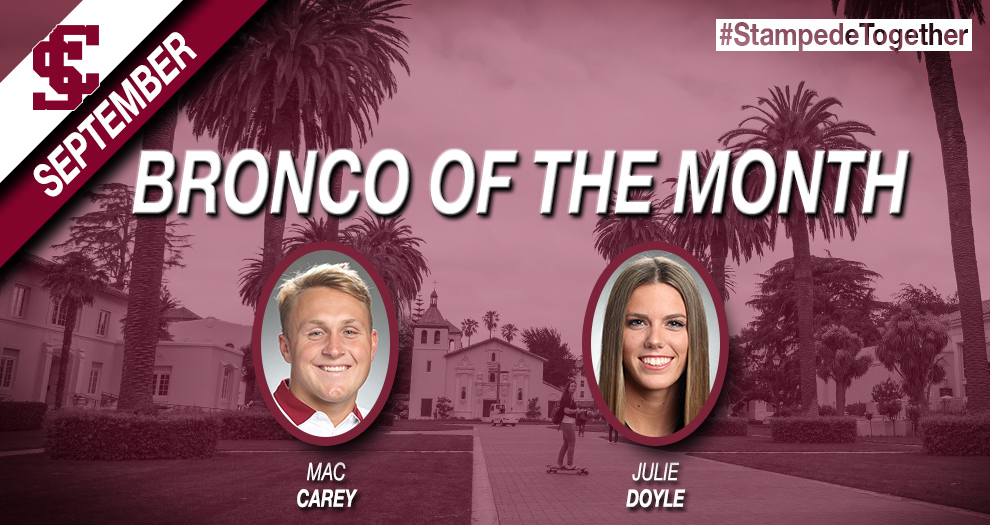 SAAC Announces Broncos of the Month for September