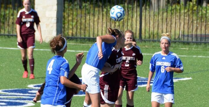 Women's Soccer photos available from Concordia Chicago, Rockford matches