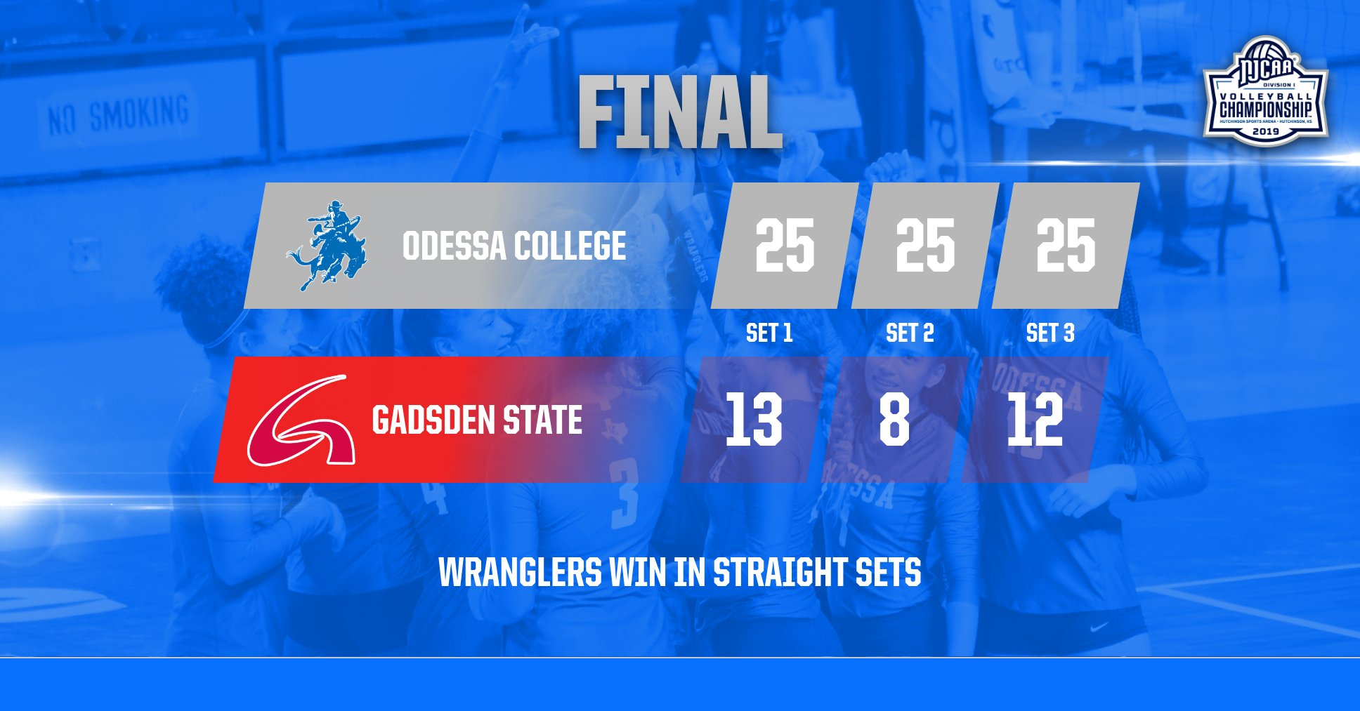 Wranglers defeat Gadsden State in Straight Sets