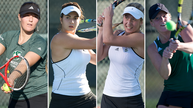 FOUR WOMEN'S TENNIS PLAYERS NAMED ALL-BIG SKY