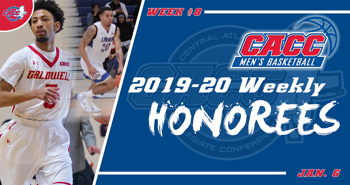 CACC Men's Basketball Weekly Honorees (Jan. 6)
